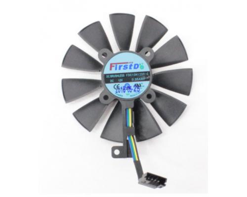 Asus Кулер для видеокарты ASUS STRIX 87мм. FDC10H12S9-C 4 PIN средний
