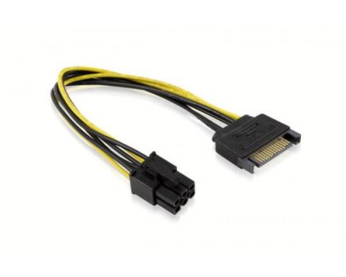 Переходник питания SATA на 6 pin видеокарту
