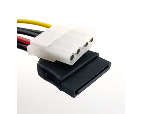 Переходник питания SATA 15 Мама на Molex 4 pin Мама