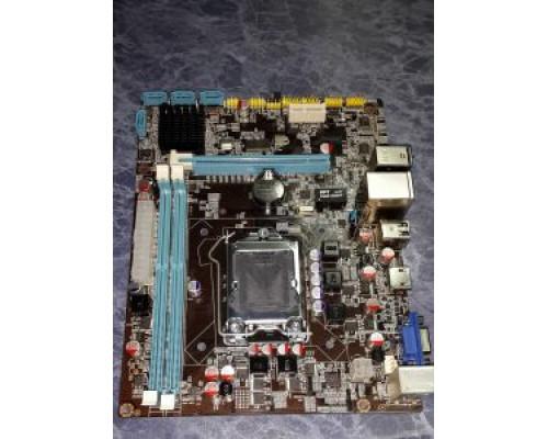 "Материнская плата Socket 1155""XWG H61"" (Intel H61 , 2xDDR3, SATA , PCI-E, SB, LAN, USB2.0, mATX,HDMI)"