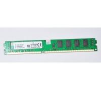 Модуль памяти старого образца 4GB DDR3 Kingston(PC10600, 1333 МГц, 16 чиповая. двухсторонняя) RET