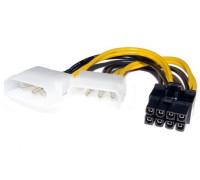 Переходник питания 2 Molex на 8 pin видеокарту
