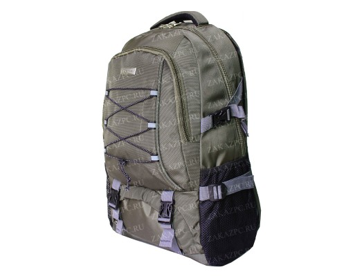 Рюкзак DreamApple Зелено-коричневый со шнуровкой 9028