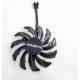 Gigabyte Кулер для видеокарты Gigabyte RX580 Gaming MI 4 PIN
