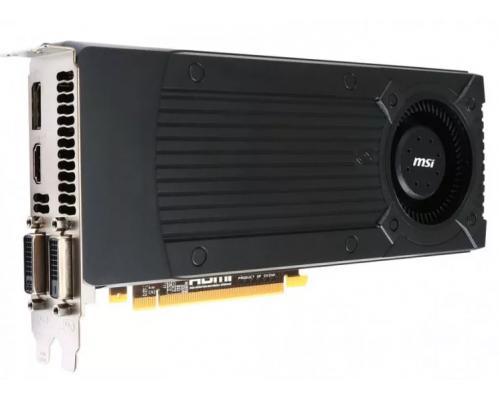 БУ Видеокарта MSI GeForce GTX 760 1006Mhz PCI-E 3.0 2048Mb 6008Mhz 256 bit 2xDVI HDMI HDCP