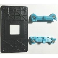 Рамка AM3 крепления кулера AMD разборная синяя