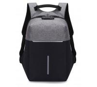Рюкзак Body FULL Черно-серый