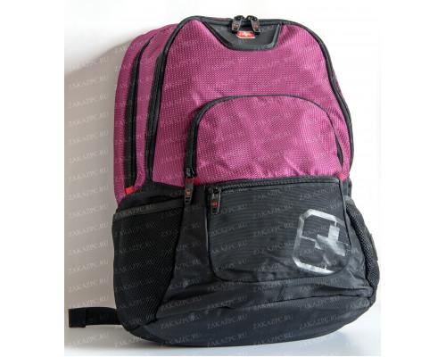 Рюкзак SZRi Swiss Черно-Фиолетовый