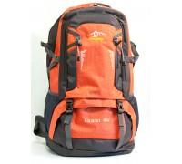 Рюкзак Body Huwai Серо-оранжевый 60 литров