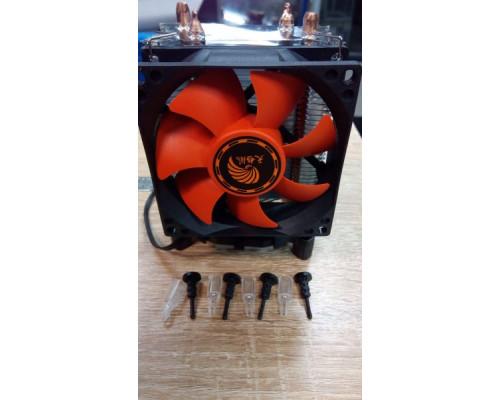 Кулер ASURA с тепловыми трубками 1151 1155 1156 1150 775 1200 AM2 AM3