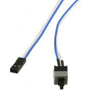 Кнопка включения компьютера с кабелем