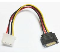 Переходник питания SATA на Molex 4 pin