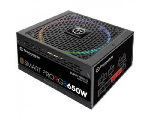 Блок питания 650W Thermaltake Smart Pro RGB (PS-SPR-0650FPCBEU-R)