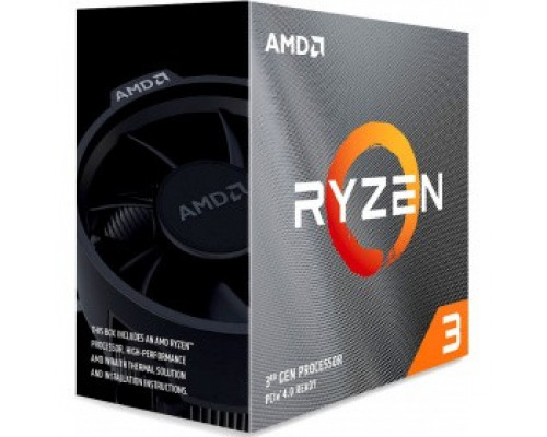 Процессор AMD Ryzen 3 3100 BOX