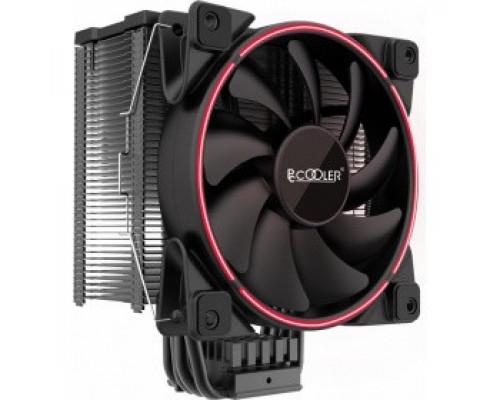 Кулер PCcooler GI-X6R V2 Red LED