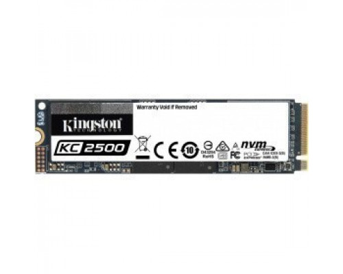Твердотельный накопитель 250Gb SSD Kingston KC2500 (SKC2500M8/250G)