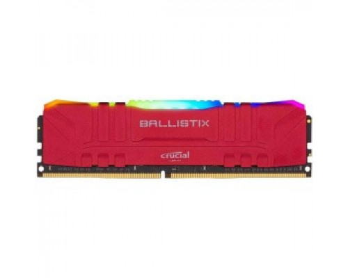 Оперативная память 16Gb DDR4 3200MHz Crucial Ballistix RGB Red (BL16G32C16U4RL)