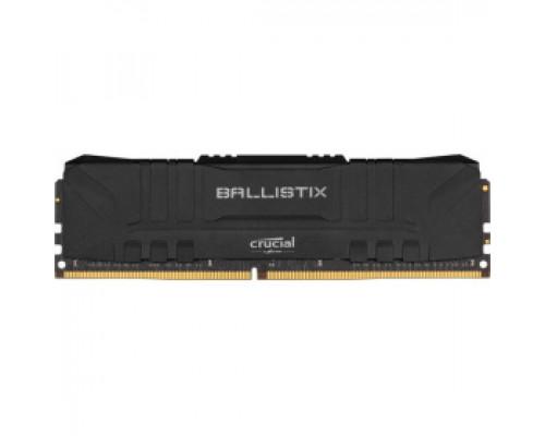 Оперативная память 16Gb DDR4 2666MHz Crucial Ballistix Black (BL16G26C16U4B)