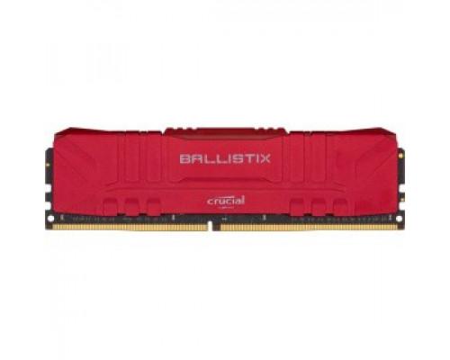 Оперативная память 16Gb DDR4 3200MHz Crucial Ballistix Red (BL16G32C16U4R)