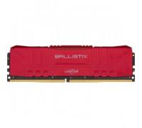Оперативная память 16Gb DDR4 3000MHz Crucial Ballistix Red (BL16G30C15U4R)