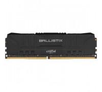 Оперативная память 8Gb DDR4 2400MHz Crucial Ballistix Black (BL8G24C16U4B)