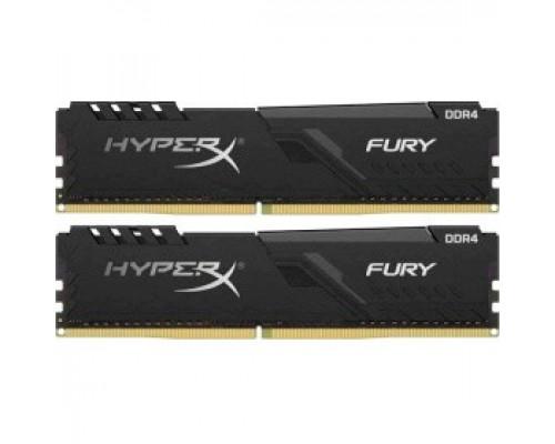 Оперативная память 32Gb DDR4 3466MHz Kingston HyperX Fury (HX434C17FB4K2/32) (2x16Gb KIT)
