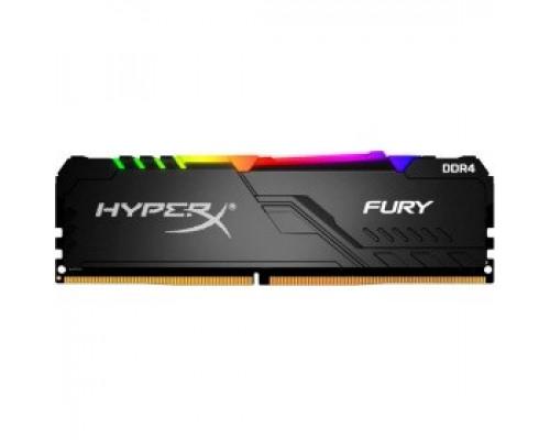 Оперативная память 32Gb DDR4 3000MHz Kingston HyperX Fury RGB (HX430C16FB3A/32)