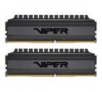 Оперативная память 8Gb DDR4 3000MHz Patriot Viper 4 Blackout (PVB48G300C6K) (2x4Gb KIT)