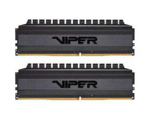 Оперативная память 16Gb DDR4 3200MHz Patriot Viper 4 Blackout (PVB416G320C6K) (2x8Gb KIT)