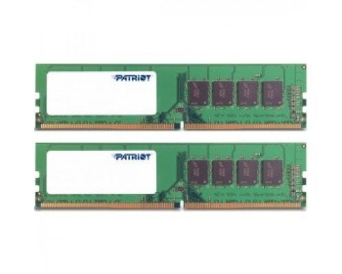 Оперативная память 16Gb DDR4 2400MHz Patriot Signature (PSD416G2400K) (2x8Gb KIT)