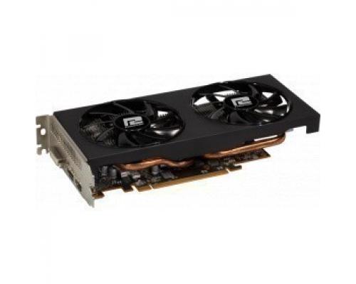 Видеокарта AMD Radeon RX 5500 XT PowerColor PCI-E 4096Mb (AXRX 5500XT 4GBD6-DH/OC)