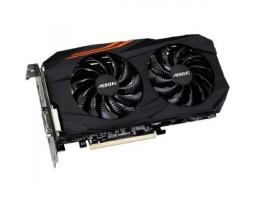 Видеокарта AMD Radeon RX 580 Gigabyte PCI-E 8192Mb (GV-RX580AORUS-8GD)