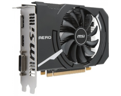 Видеокарта AMD (ATI) Radeon RX 550 MSI PCI-E 4096Mb (RX 550 AERO ITX 4G OC)