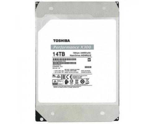 Жесткий диск 14Tb SATA-III Toshiba X300 Performance (HDWR21EUZSVA) OEM