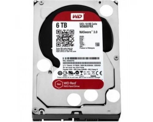 Жёсткий диск 6Tb SATA-III Western Digital Red (WD60EFRX)