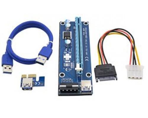 Райзер USB 3.0 riser,Molex VER006 ,  60 см.