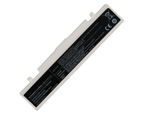 AA-PB9NC5B аккумулятор для ноутбука Samsung R418, R420, R425, R428, R430, R468, R470, R480, R505, R507, R510, R517, R519, R520, R525, R530, R580, R730, R780, RV410, RV440, RV510, RF511, RF711, 300E, Q320, R519, R522, 11.1V, 5200mAh, белая