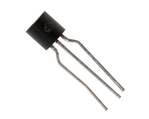 2N3906 биполярный транзистор PNP 40 В 40 В 0.2 A 0.35 Вт, TO-92