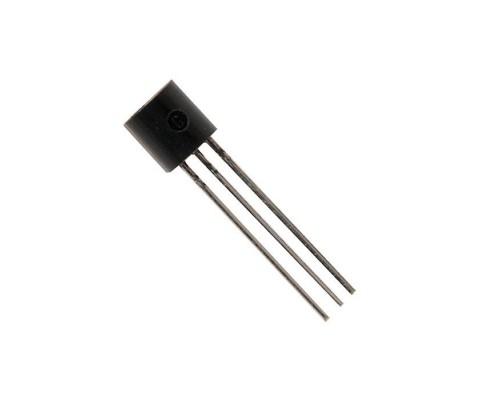 2N2222A биполярный транзистор NPN 60 В 40 В 0.8 A 0.4 Вт, TO-18