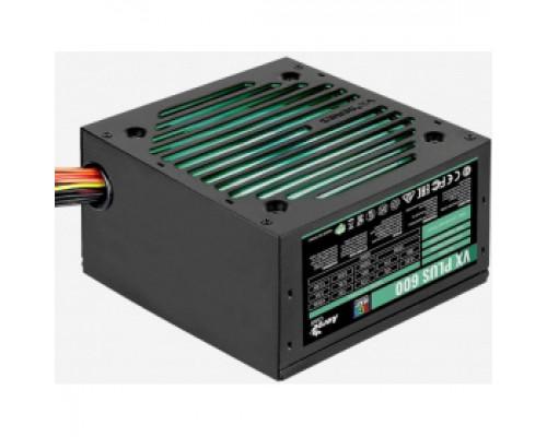 Блок питания 600W Aerocool VX-600 PLUS RGB