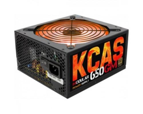 Блок питания 650W Aerocool KCAS-650GM