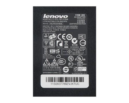 FSP170-RAB блок питания для ноутбука Lenovo 20V, 8.5A, 170W без кабеля