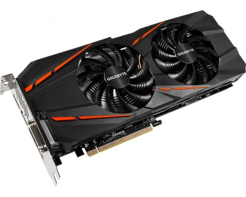 Видеокарта nVidia GeForce GTX1060 Gigabyte WindForce 2X PCI-E 6144Mb (GV-N1060G1 GAMING-6GD)