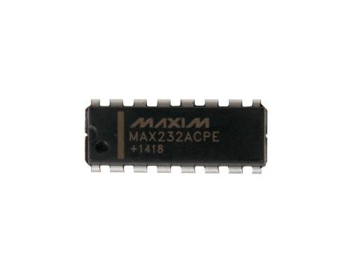 MAX232ACPE+ интерфейс RS-232 MAXIM DIP-16