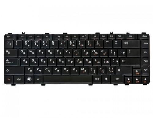 25-008386 клавиатура для ноутбука Lenovo для IdeaPad B460, Y450, Y460, Y550, Y560, коричневая, гор.Enter