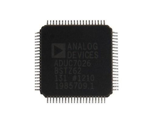ADUC7026BSTZ62 микроконтроллер Analog Devices, LQFP