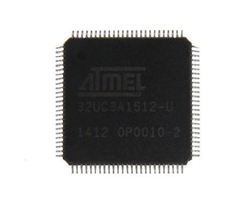 AT32UC3A1512-AUT микроконтроллер Atmel, TQFP