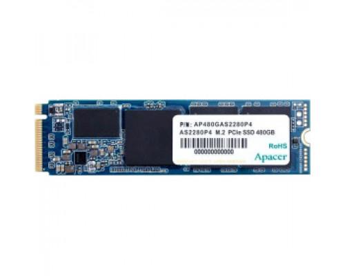 Твердотельный накопитель 480Gb SSD Apacer AS2280P4 (AP480GAS2280P4-1)