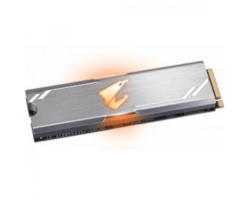 Твердотельный накопитель 256Gb SSD Gigabyte Aorus RGB (GP-ASM2NE2256GTTDR)