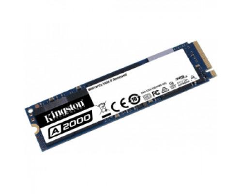 Твердотельный накопитель 250Gb SSD Kingston A2000 (SA2000M8/250G)